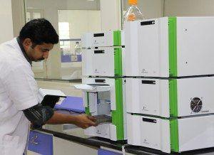 HPLC testing
